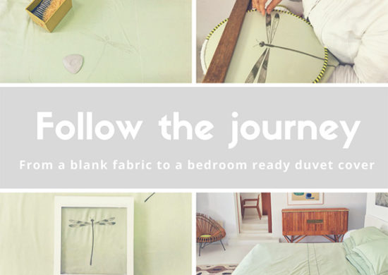 Inside The Workshop: 6 Steps to Make a full Bed Linen Set