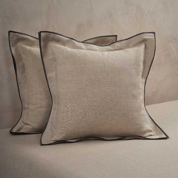 boho cushion cover natural