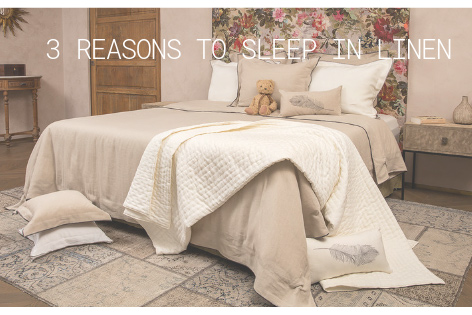 3 Reasons to Sleep in Linen