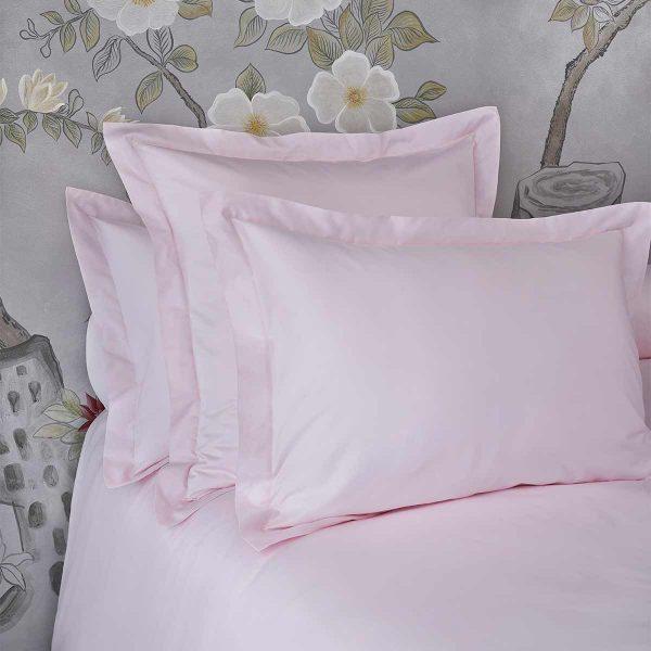 bella pillow shams paradise pink