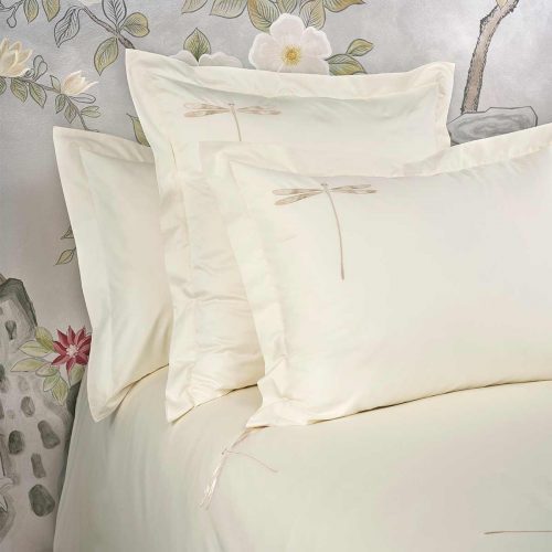 dragonfly pillow shams lemonade