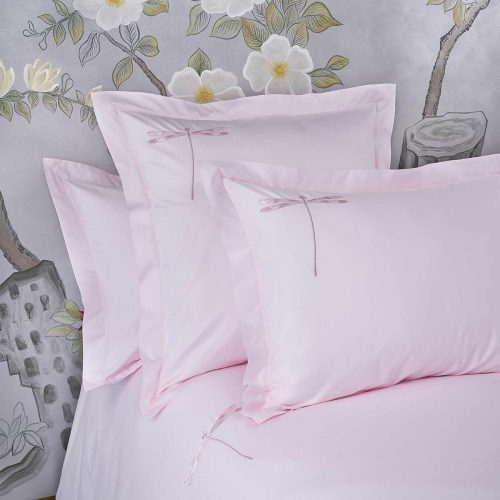 dragonfly pillow shams paradise pink