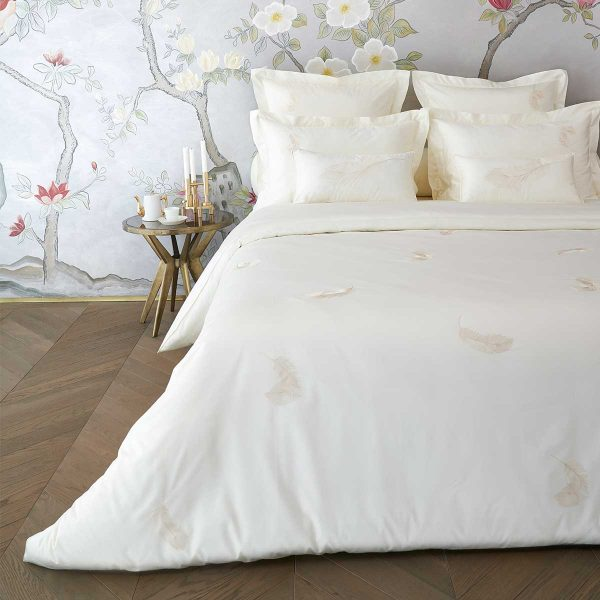 feather duvet cover lemonade