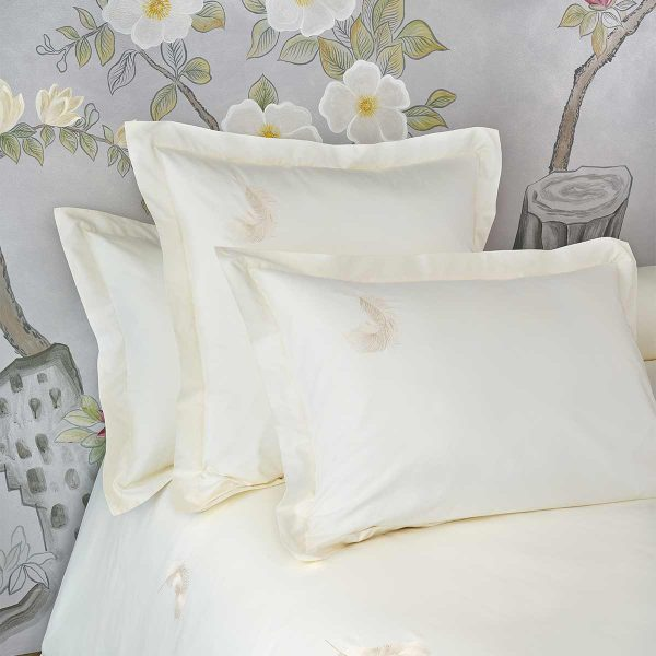 feather pillow sham lemonade