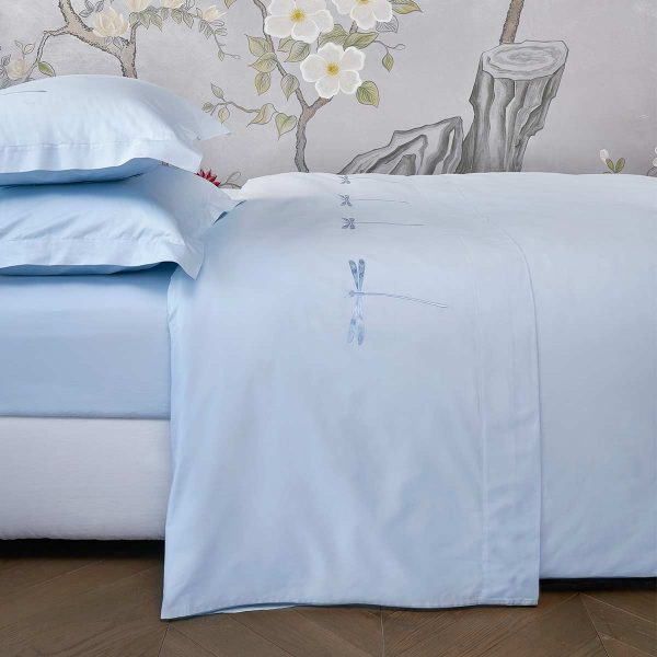 dragonfly top sheet aqua