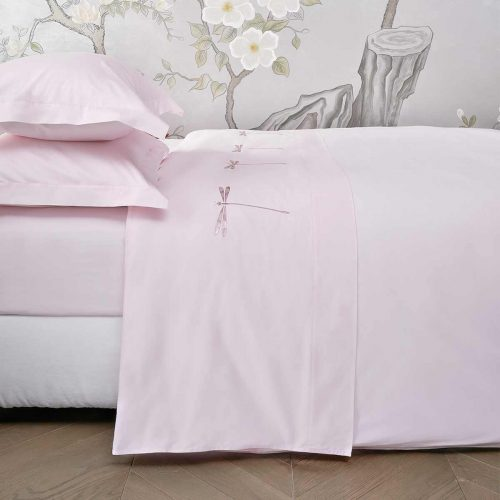 dragonfly top sheet paradise pink