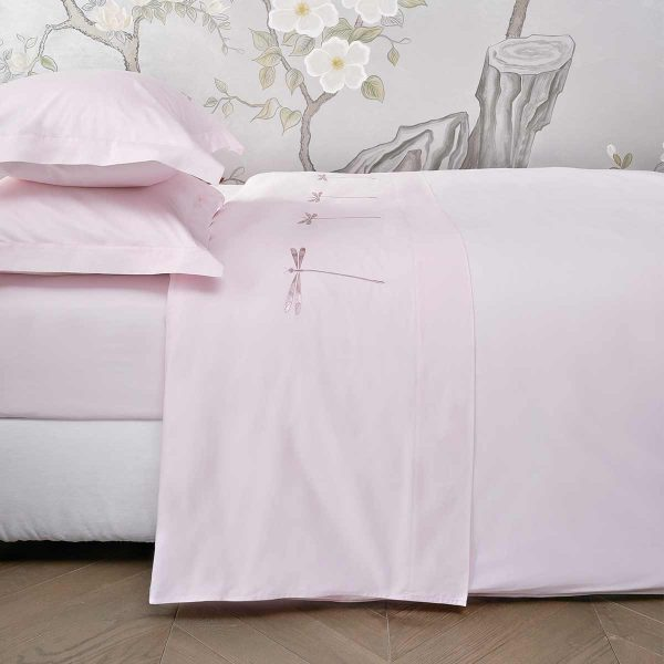 dragonfly top sheet paradise pink