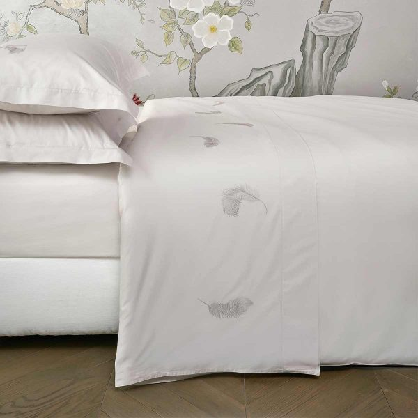 feather top sheet moonlight