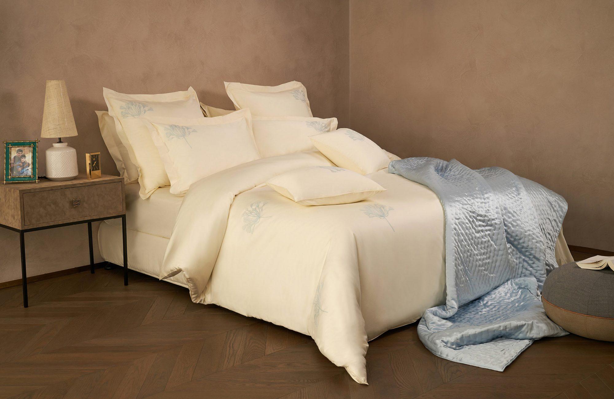 luxury bed linen homepage