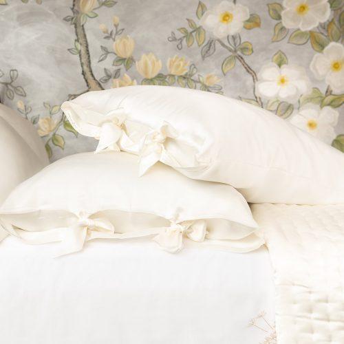 silk pillow case pair
