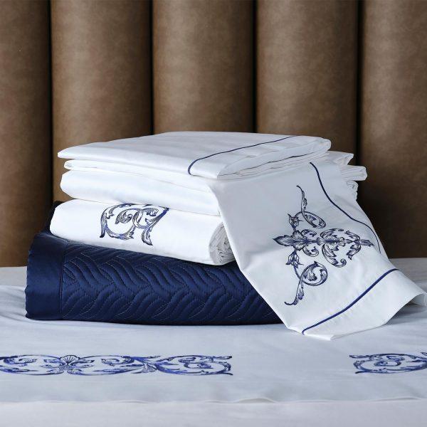 Aspen bed linen pile detail