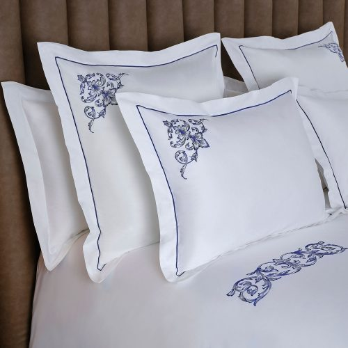 aspen pillow sham white