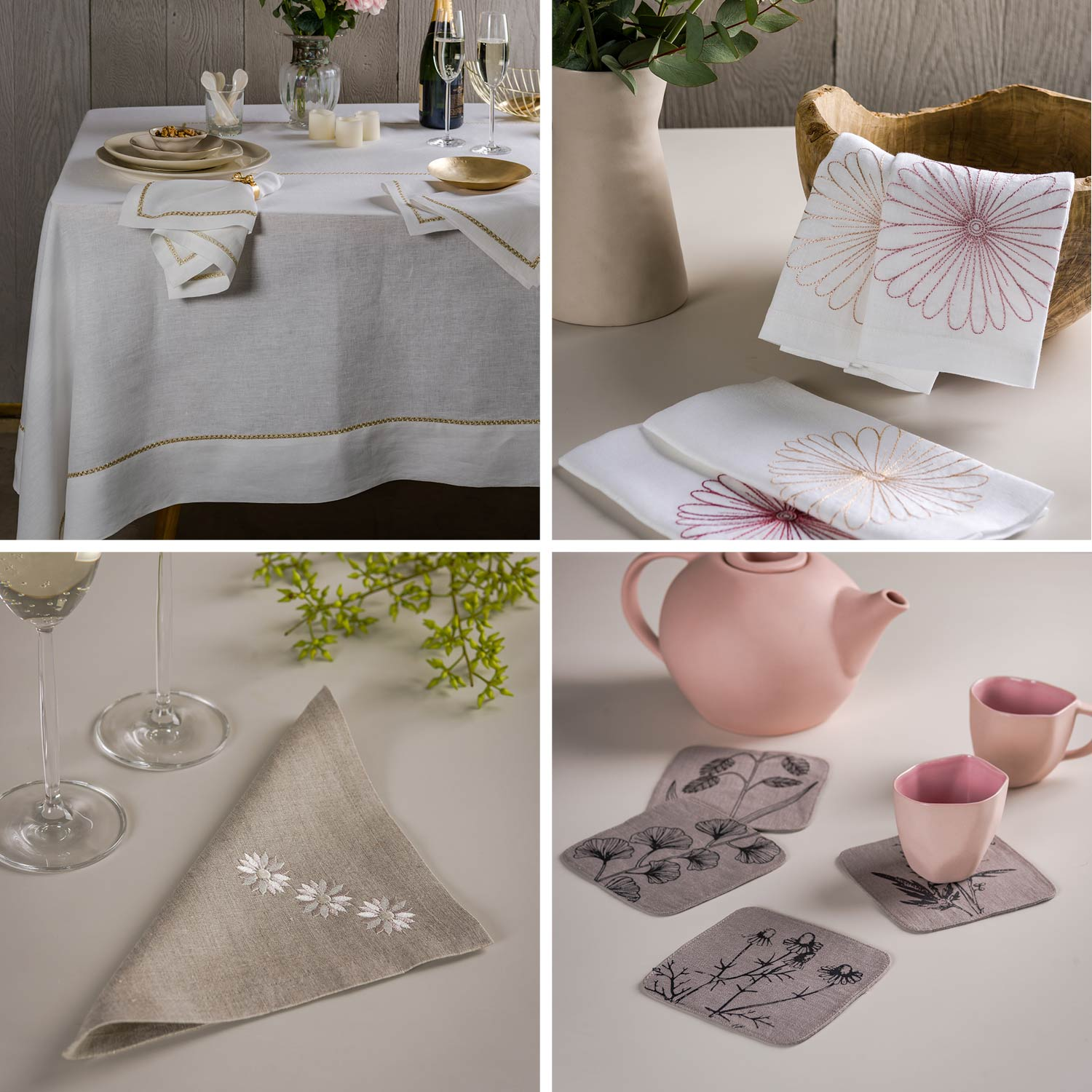 Invest in Quality Linens to set a beautiful table