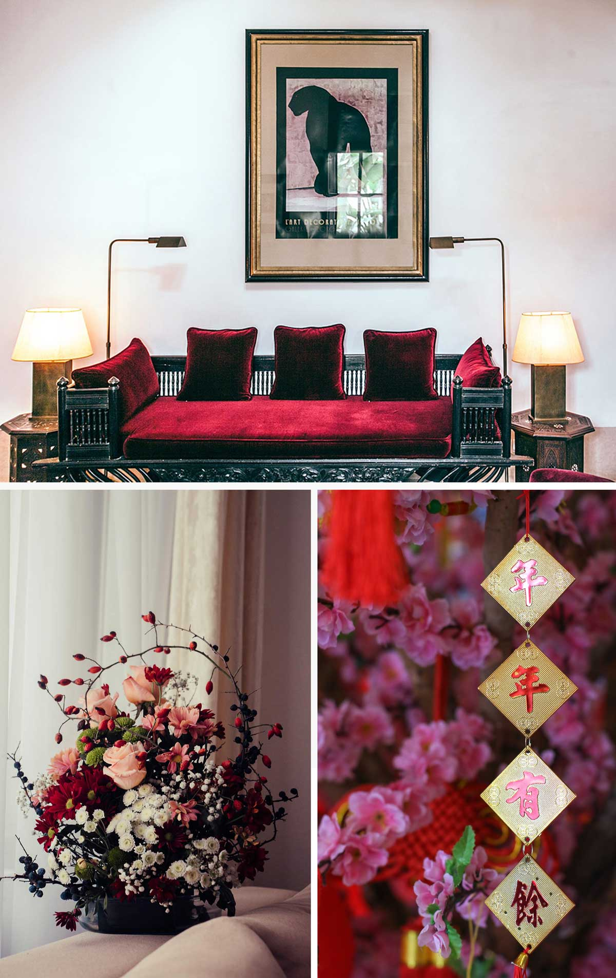 How to Tastefully include Red in your interiors