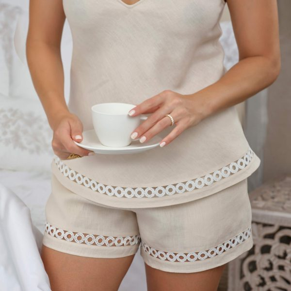 fog linen shorts