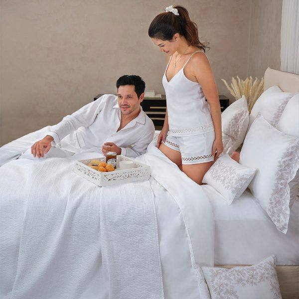 camelia camisole white linen