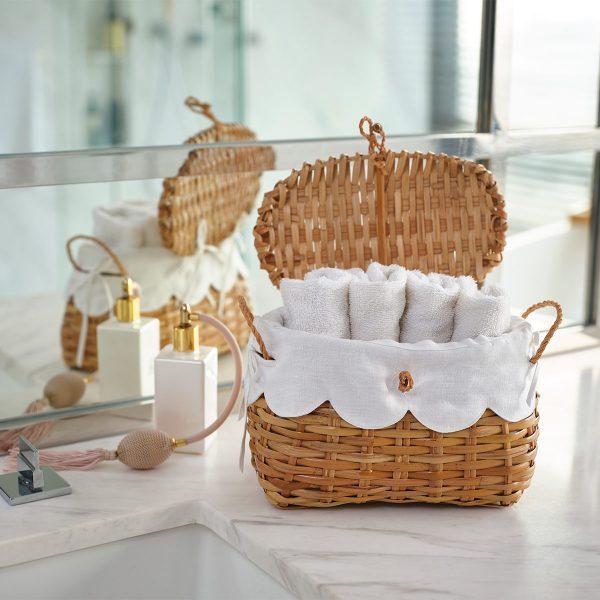 Rattan basket micro