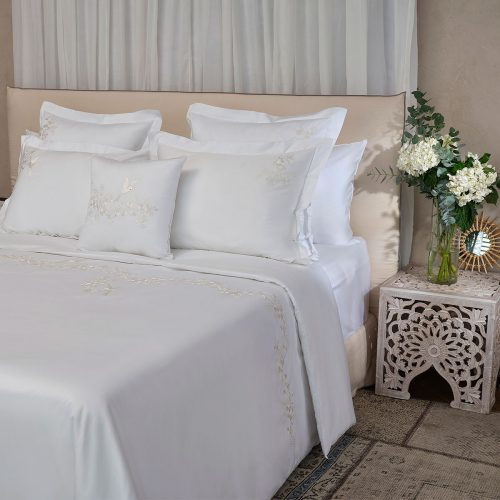 Whisper white duvet cover